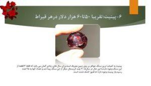 دانلود پاورپوینت گرانتیرین سنگهای دنیا