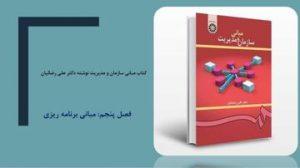 دانلود پاورپوینت فصل پنجم کتاب مبانی سازمان و مدیریت دکتر علی رضائیان