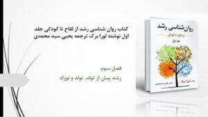 دانلود پاورپوینت فصل سوم کتاب روانشناسی رشد لورا برک یحیی سید محمدی