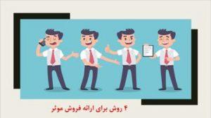 دانلود پاورپوینت چهار روش برای ارائه فروش موثر